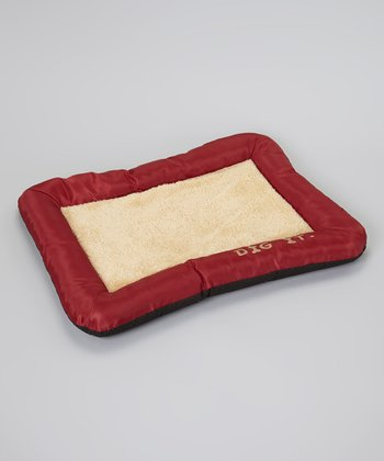 Red & Tan 'Dig it' Crate Pad