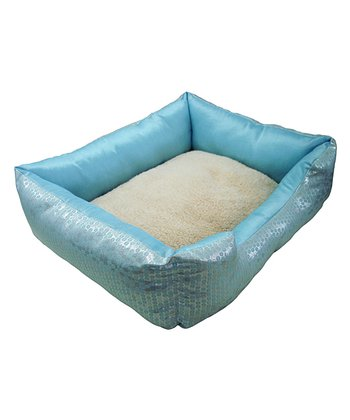 Blue Moonlight Cuddler Pet Bed