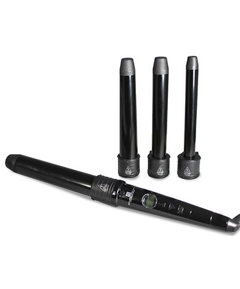 Black Curling Iron Set