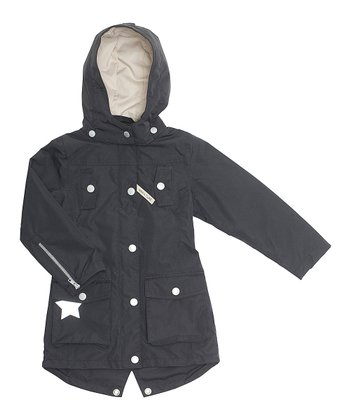 Black Wanya Coat - Girls