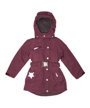 Rumba Red Wibby Coat - Girls