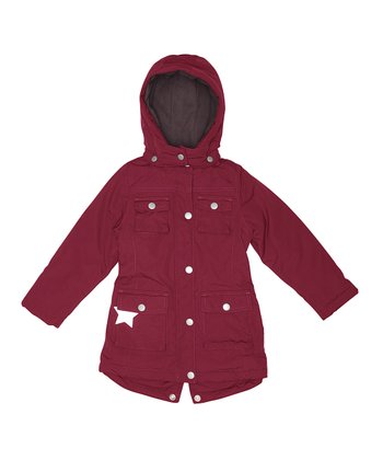 Rumba Red Windie Jacket - Girls