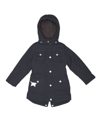 Black Windie Jacket - Girls