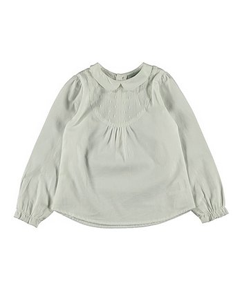 White Alfie Top - Infant & Girls