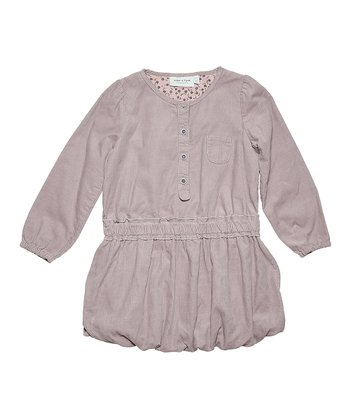 Nirvana Purple Tia Bubble Dress - Toddler & Girls