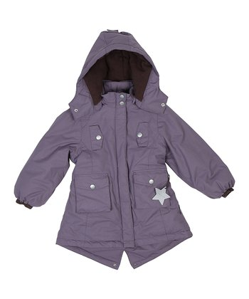 Purple Heart Winnia Jacket - Girls