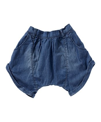 Moonlight Blue Erica Shorts - Girls