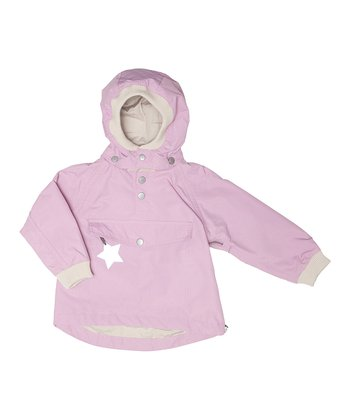Mauve Orchid Vito Coat - Girls