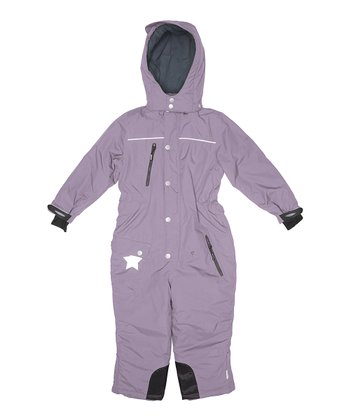 Purple Sage Mika Snowsuit - Girls