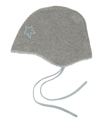Winter Sky Urs Wool-Blend Earflap Beanie