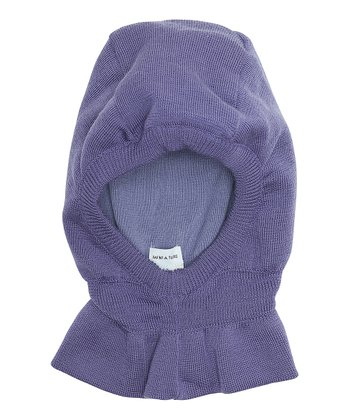 Purple Heart Skafte Wool Hood