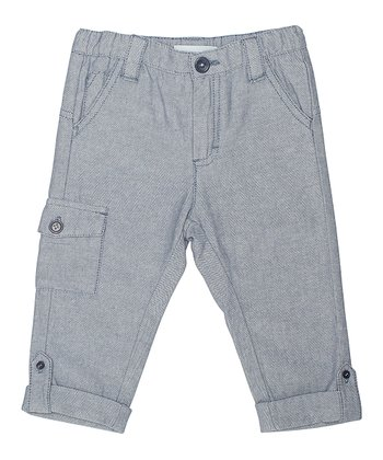 Ashley Blue Alberto Capri Pants - Toddler & Boys