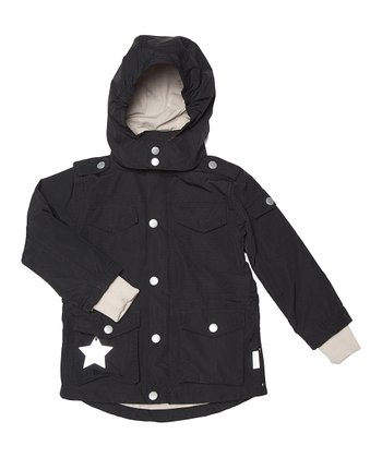 Black Wigan Jacket - Toddler & Boys