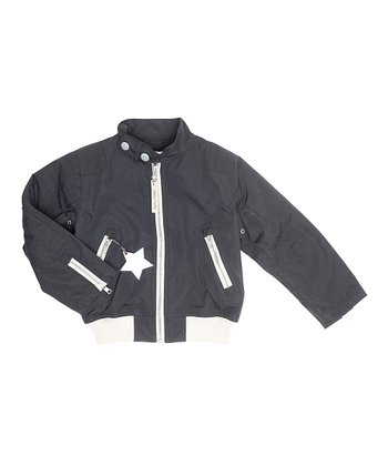 Black Wilmo Jacket - Boys