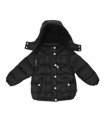 Black Kalle Puffer Coat - Toddler & Boys