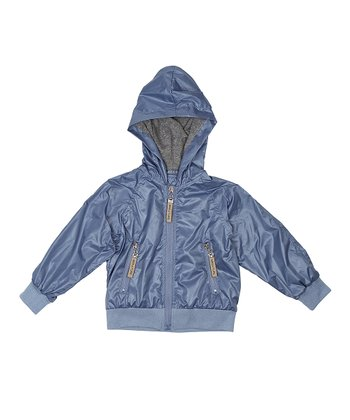 Moonlight Blue Glen Jacket - Boys