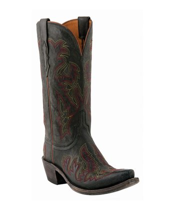 Black Saffia Boot - Women