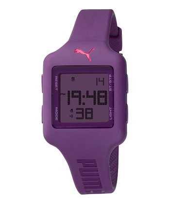 Purple Slide-S Chronograph Watch - Women
