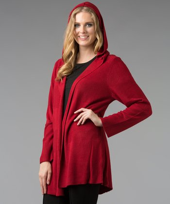 Ruby Hooded Cardigan