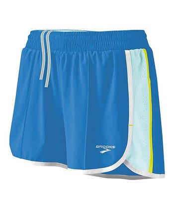 Neptune & Seafoam Epiphany Stretch Short II - Women