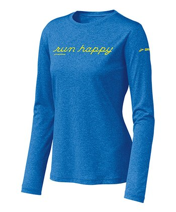 Neptune EZ T 'Run Happy' Long-Sleeve Top - Women