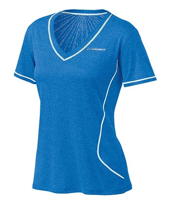 Heather Seafoam Versatile EZ Short-Sleeve Top - Women