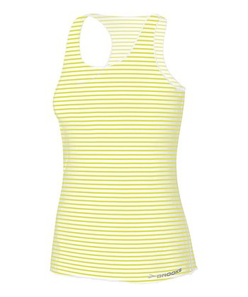 Nightlife Stripe D'lite Micro Mesh Racerback Tank - Women