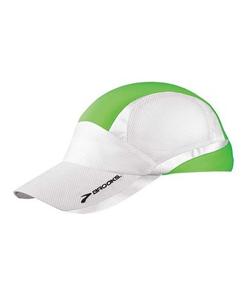 Brite Green Nightlife Mesh Cap - Women