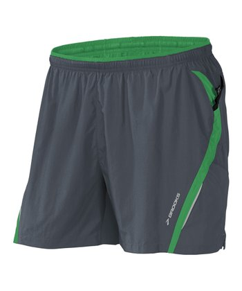 Anthracite & Envy Infiniti Notch Short II - Men