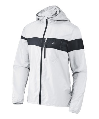 White & Anthracite LSD Lite Jacket III - Men