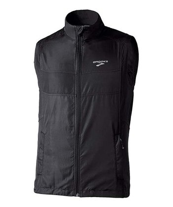 Black Essential Run Vest II - Men