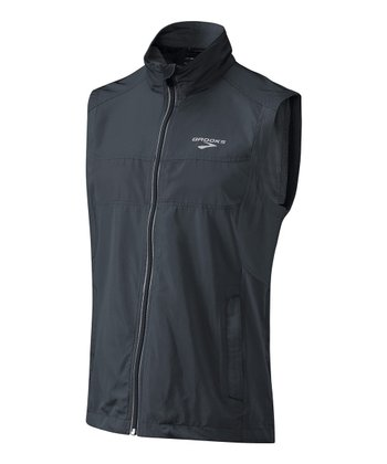 Anthracite Essential Run Vest II - Men
