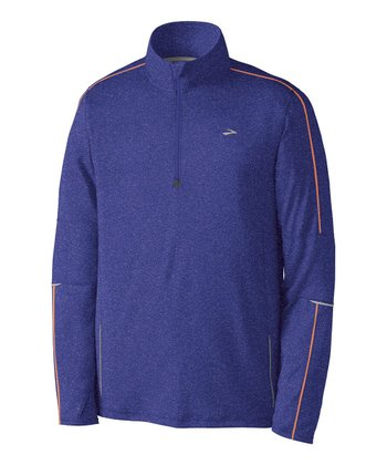 Ultramarine Essential Run Long-Sleeve Zip-Up - Men