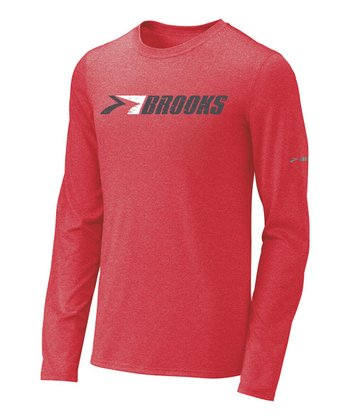 Lava Retro Brooks Long-Sleeve Tee - Men