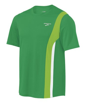 Envy & Brite Green Rev Short-Sleeve Top - Men