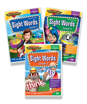 170 Sight Words DVD Set