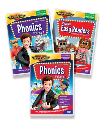 Phonics DVD Set