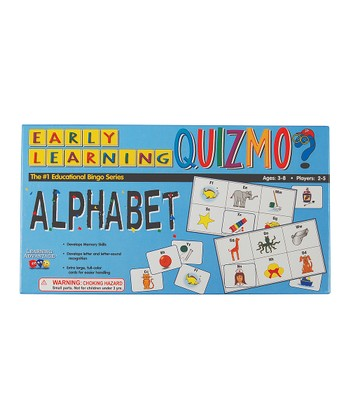 Quizmo® Early Learning Alphabet Game