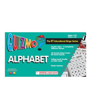 Quizmo® Alphabet Game