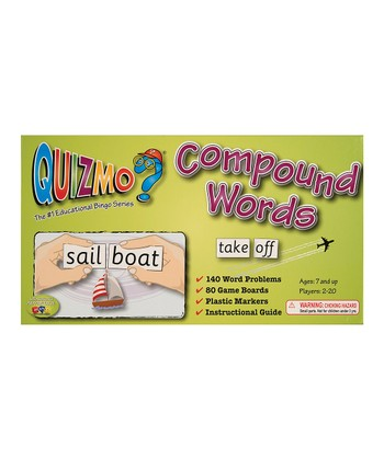 Quizmo® Compound Words Game