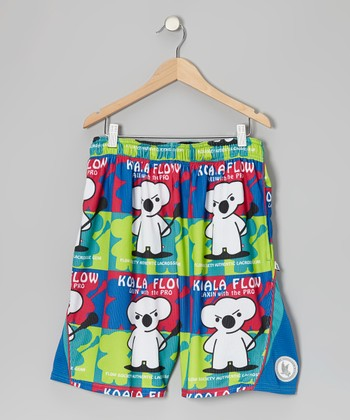 Blue Koala Lacrosse Shorts - Kids