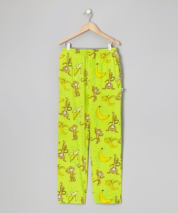 Lime Monkey Warm-Up Pants