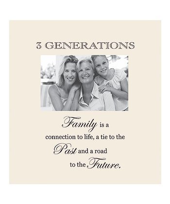 'Three Generations' Photo Frame
