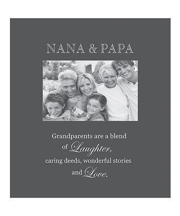 'Nana & Papa' Photo Frame