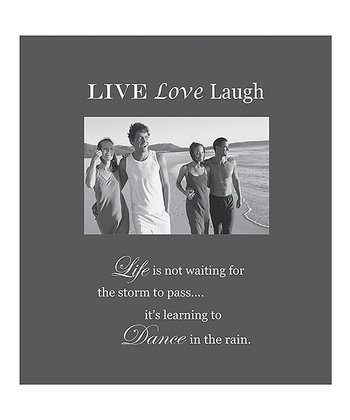 'Live Love Laugh' Photo Frame