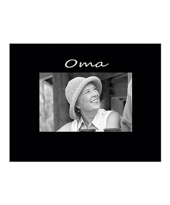 'Oma' Photo Frame