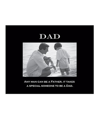 'Dad' Sentiment Photo Frame