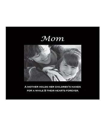 'Mom' Sentiment Photo Frame