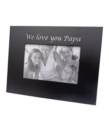 'We Love You Papa' Photo Frame