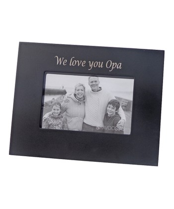 'We Love You Opa' Photo Frame